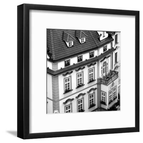 Old City I-Carl Ellie-Framed Art Print