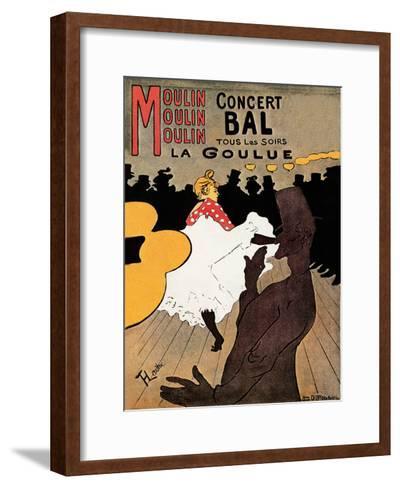 Concert Bal--Framed Art Print