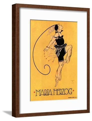 Maria Herzog--Framed Art Print