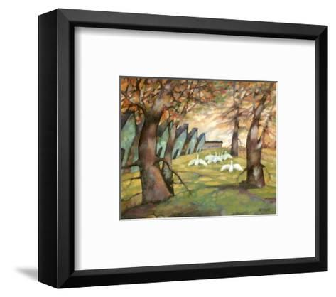 The Farmyard-Claudette Castonguay-Framed Art Print