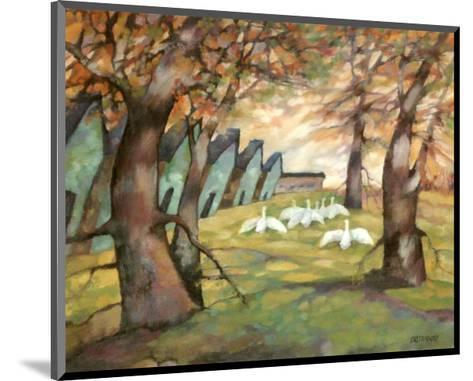 The Farmyard-Claudette Castonguay-Mounted Art Print