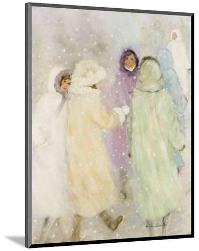 Winter Ladies-H?l?ne L?veill?e-Mounted Art Print