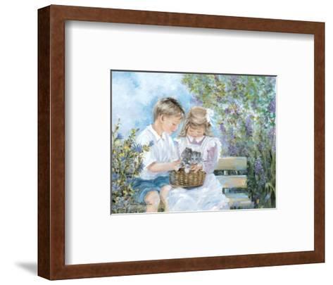 Shared Joy-H?l?ne L?veill?e-Framed Art Print