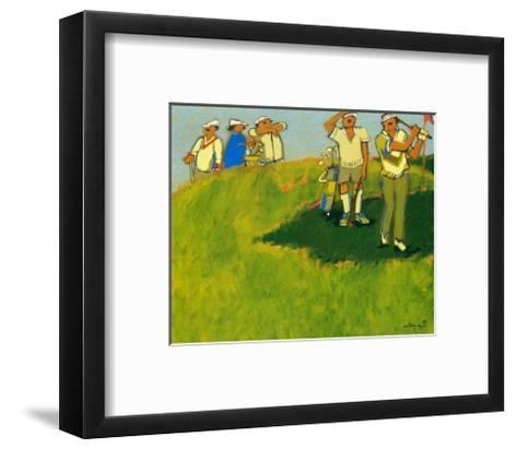 On the Green-Claudette Castonguay-Framed Art Print