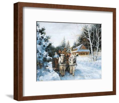 Winter Fun-Lise Auger-Framed Art Print