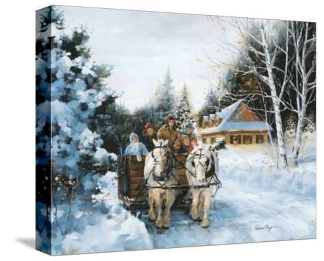 Winter Fun-Lise Auger-Stretched Canvas Print