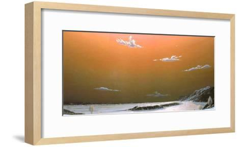 The Island's Hill-Guy Paquet-Framed Art Print