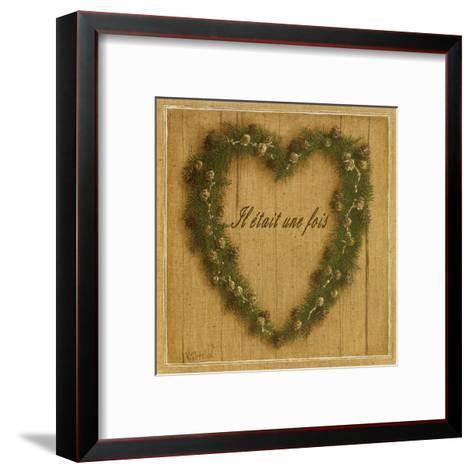 Coeur Il Etait Une Fois-Vincent Perriol-Framed Art Print
