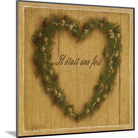 Coeur Il Etait Une Fois-Vincent Perriol-Mounted Art Print