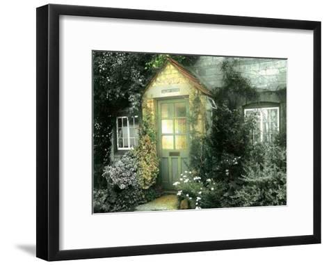 The Grey Cottage-P^t^ Turk-Framed Art Print