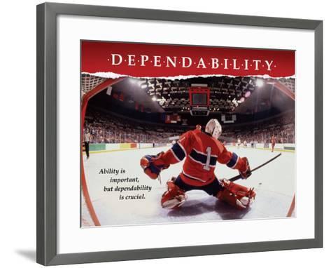 Dependability--Framed Art Print