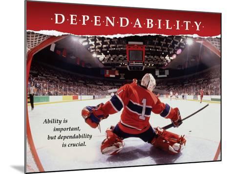 Dependability--Mounted Art Print