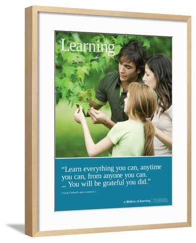Learning--Framed Art Print