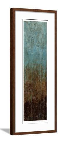 Oxidized Copper I-Jennifer Goldberger-Framed Art Print