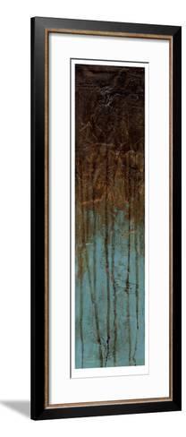 Oxidized Copper II-Jennifer Goldberger-Framed Art Print