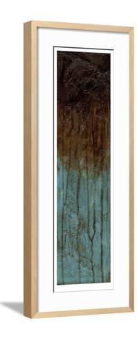 Oxidized Copper IV-Jennifer Goldberger-Framed Art Print
