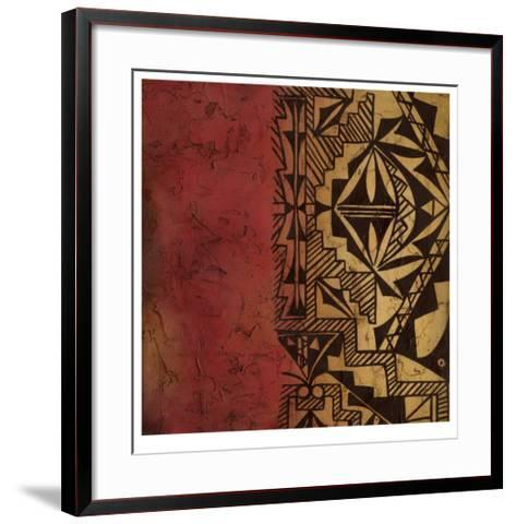 Native Tradition I-Chariklia Zarris-Framed Art Print