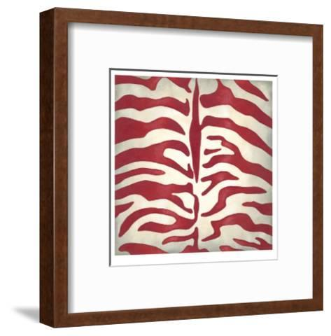 Vibrant Zebra I-Chariklia Zarris-Framed Art Print