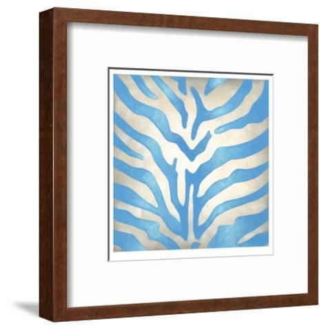 Vibrant Zebra II-Chariklia Zarris-Framed Art Print