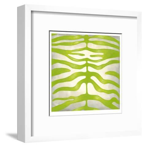 Vibrant Zebra III-Chariklia Zarris-Framed Art Print