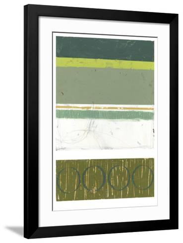 Precipice II-Jennifer Goldberger-Framed Art Print