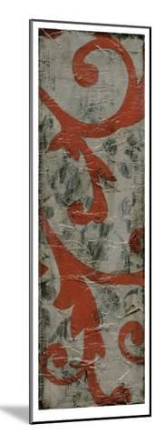 Cinnabar & Stone II-Jennifer Goldberger-Mounted Limited Edition