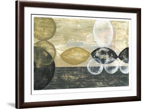Half Moon I-Jennifer Goldberger-Framed Art Print