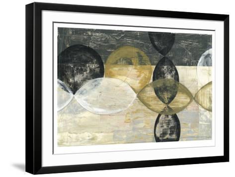 Half Moon II-Jennifer Goldberger-Framed Art Print