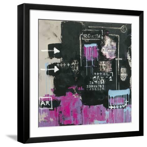 Initiales 92-Eric Trichet-Framed Art Print