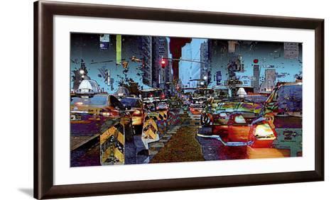 Taxis-C?dric Bouteiller-Framed Art Print