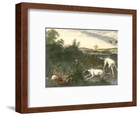 Folle et Mitte-Alexandre-Francois Desportes-Framed Art Print