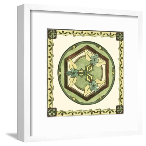 Arts and Crafts Plate I--Framed Art Print
