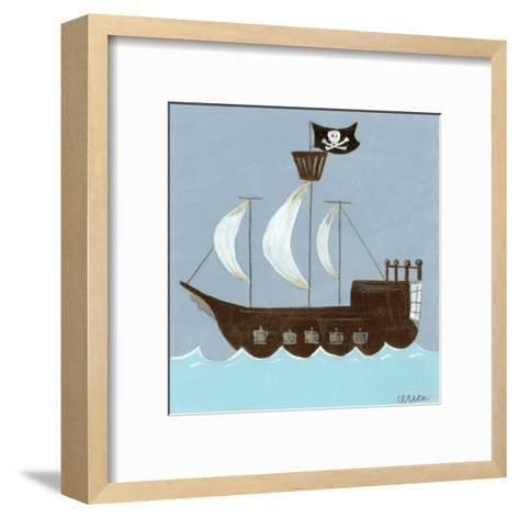 Ahoy!-Erica J^ Vess-Framed Art Print