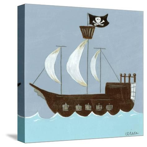 Ahoy!-Erica J^ Vess-Stretched Canvas Print