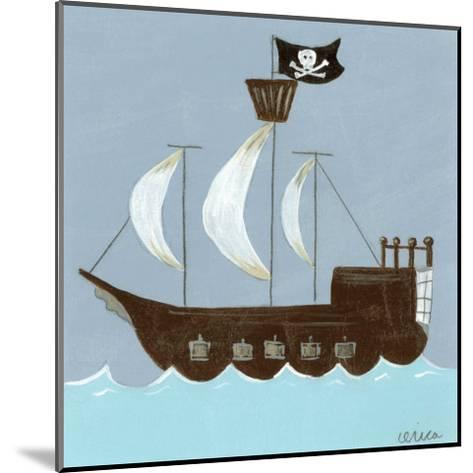 Ahoy!-Erica J^ Vess-Mounted Art Print