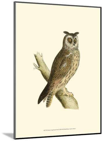 Long Eared Owl-Reverend Francis O^ Morris-Mounted Art Print