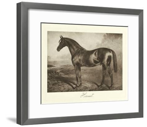 Hermit-Clarence Hailey-Framed Art Print