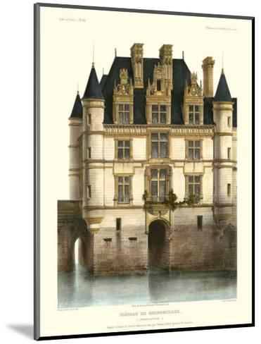 Petite French Chateaux XI-Victor Petit-Mounted Premium Giclee Print