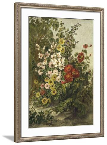 Flower Garden--Framed Art Print