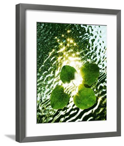 Floating Light-Leonard Morris-Framed Art Print