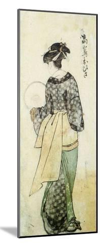 Back View of Ohisa-Kitagawa Utamaro-Mounted Giclee Print