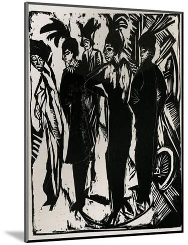 Five Cocottes-Ernst Ludwig Kirchner-Mounted Art Print