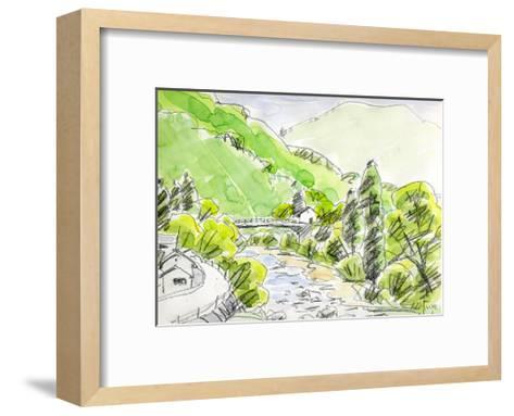 Wind Runs Through the Valley-Kenji Fujimura-Framed Art Print