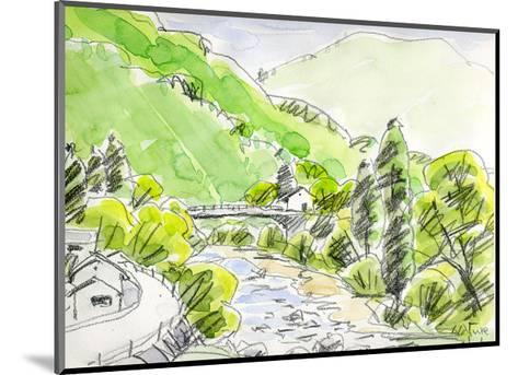 Wind Runs Through the Valley-Kenji Fujimura-Mounted Art Print
