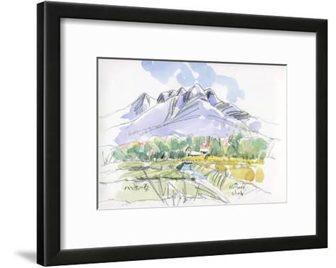 Spring Breeze Runs Through Kiyosato Plateau-Kenji Fujimura-Framed Art Print