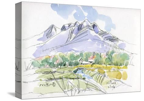Spring Breeze Runs Through Kiyosato Plateau-Kenji Fujimura-Stretched Canvas Print