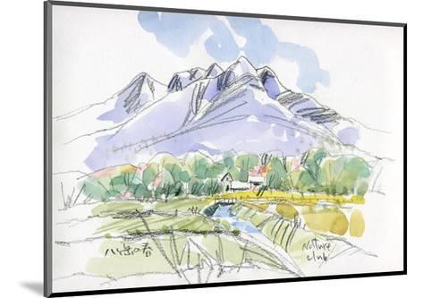 Spring Breeze Runs Through Kiyosato Plateau-Kenji Fujimura-Mounted Art Print