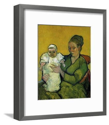 Augustine Roulin with Her Baby-Vincent van Gogh-Framed Art Print