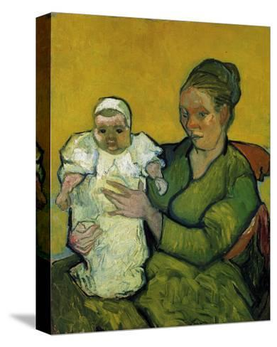 Augustine Roulin with Her Baby-Vincent van Gogh-Stretched Canvas Print