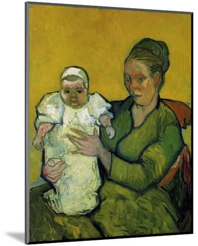 Augustine Roulin with Her Baby-Vincent van Gogh-Mounted Art Print